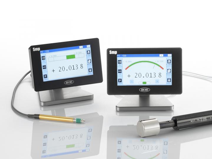 空気・電気マイクロメータ デジアナ表示ユニット Smp 《JIMTOF2018出展品》
