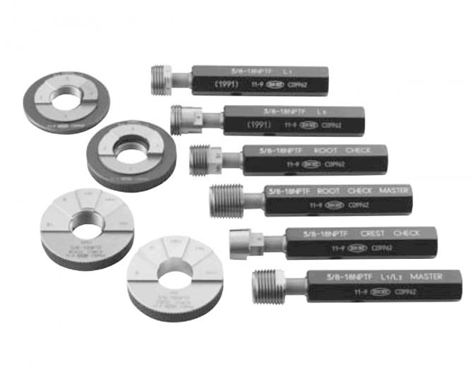 アメリカ標準管用耐密テーパねじゲージNPTF(L1,L2,L3)