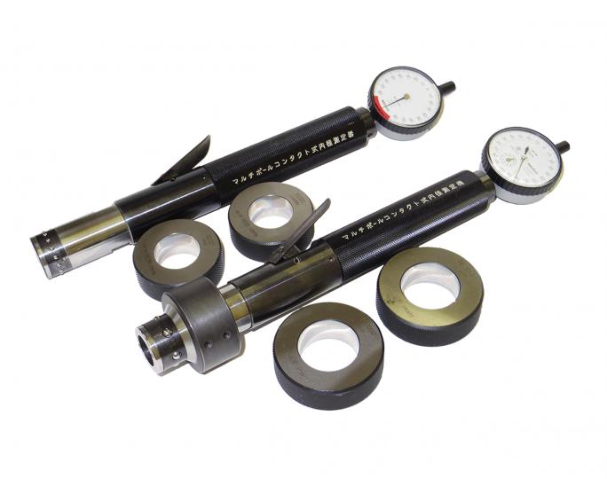マルチボールコンタクト式内径測定器