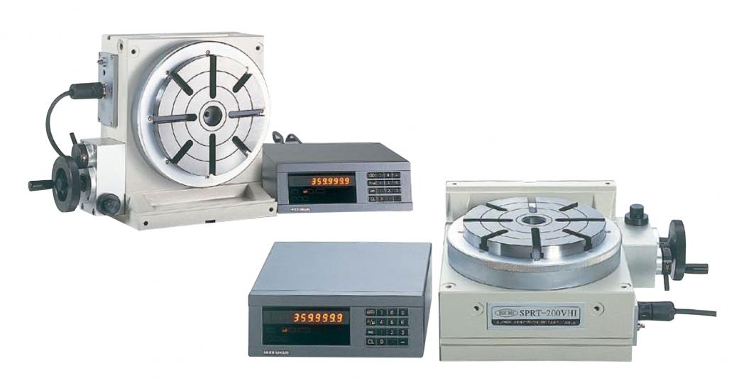 超精密回転テーブル〈割出機能付〉SPRT-200VHI