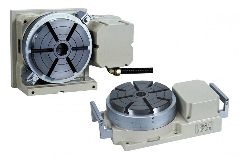 超精密回転テーブル SPRT-200/SPRT-V200