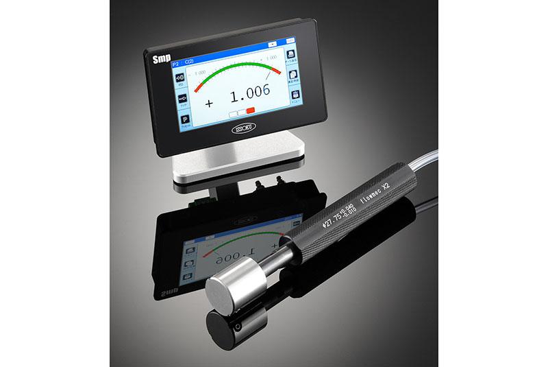 空気・電気マイクロメータ デジアナ表示ユニットSmp